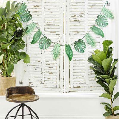Decoratie - Palmbladen slinger