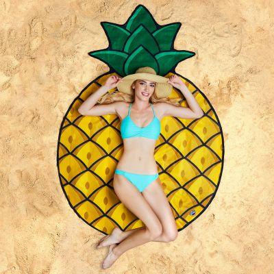 Verjaardagscadeau voor moeder - Ananas strandlaken