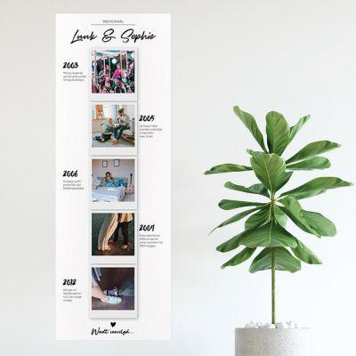 Persoonlijke Posters - Personaliseerbare foto poster – onze verhalen