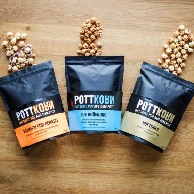 Hartige hapjes - Pottkorn speciale popcorn