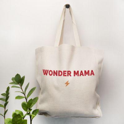 Verjaardagscadeau voor moeder - Personaliseerbare tas met 5 regels