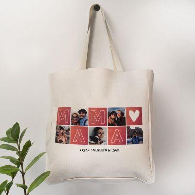 Personaliseerbare tas mama met foto's