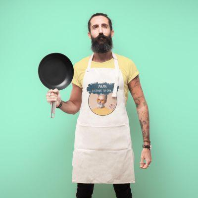 Keuken & barbeque - Personaliseerbaar keuken schort met kleur