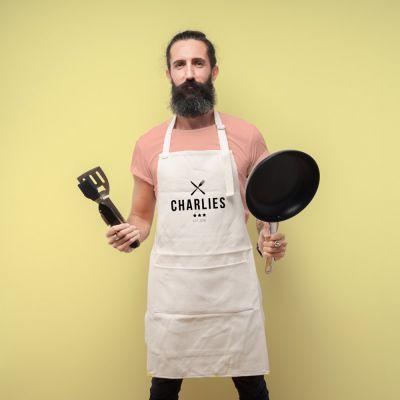 Verjaardagscadeau voor moeder - Personaliseerbaar keuken short master chef
