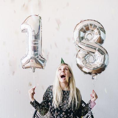 Verjaardagscadeau - Gigantische cijfer ballonnen