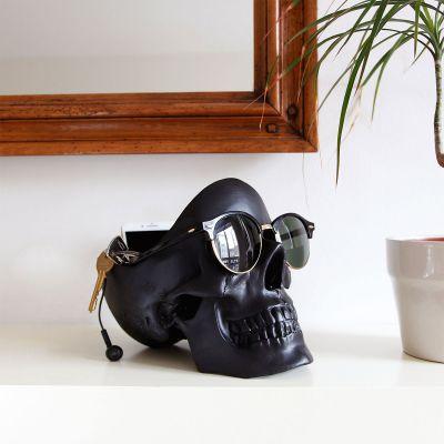 Halloween cadeau - Doodskop opbergdoos