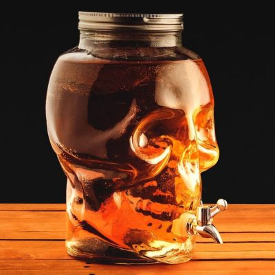 Halloween cadeau - Doodskop drank dispenser