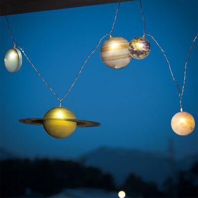 Solden - Zonnestelsel lichtsnoer
