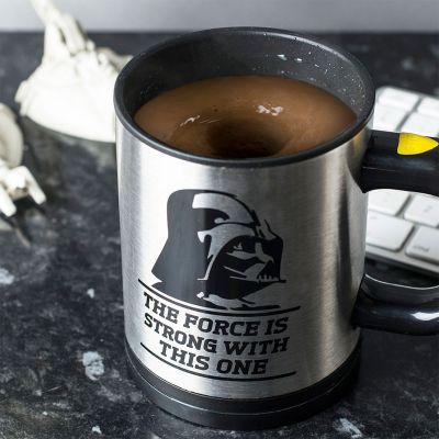 Cadeau voor broer - Star Wars zelfroerend kopje