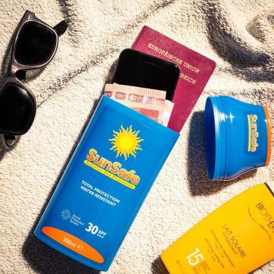 Festival gadgets - Sun Safe opberging