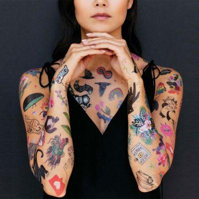 Toffe Accessoires - Temporary tattoos in verschillende designs