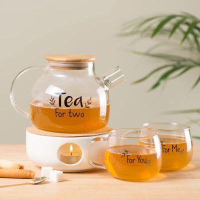 Kopjes & glazen - Tea For Two thee set