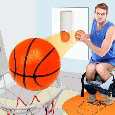 Grappige cadeaus - Basketbalset voor op het toilet