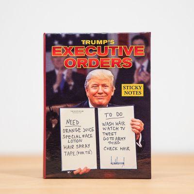Grappige cadeaus - Notitieblokje met orders van de president