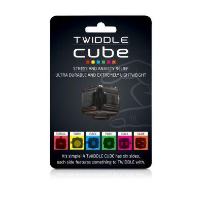 Speeltjes - Twiddle Cube anti stress dobbelsteen
