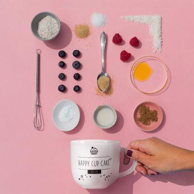 Nieuw - Koffiekopje met Vegan Mug Cake recept