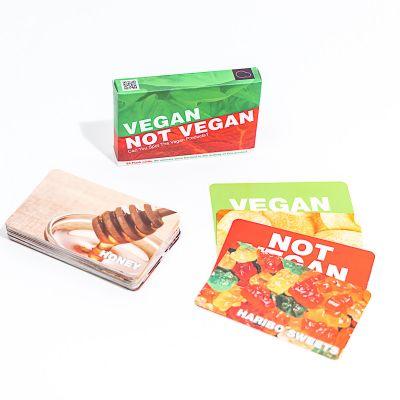 Grappige cadeaus - 'Vegan of niet' kaartspel