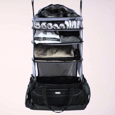 Reis gadgets - Weekendreisetas met geïntegreerde garderobe
