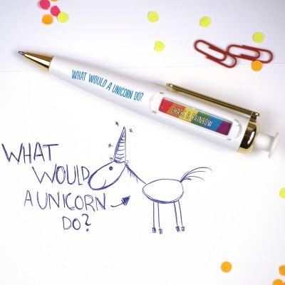 Back to school cadeaus - Eenhoorn orakel pen