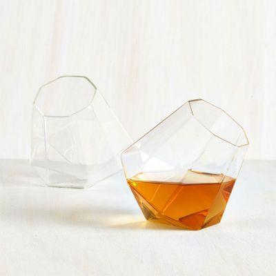 Verjaardagscadeau voor 50 - Diamant whiskyglazen