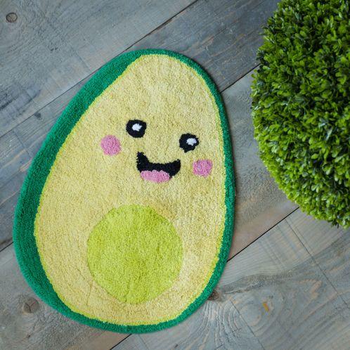 Cadeau idee - Happy Avocado badkamermat