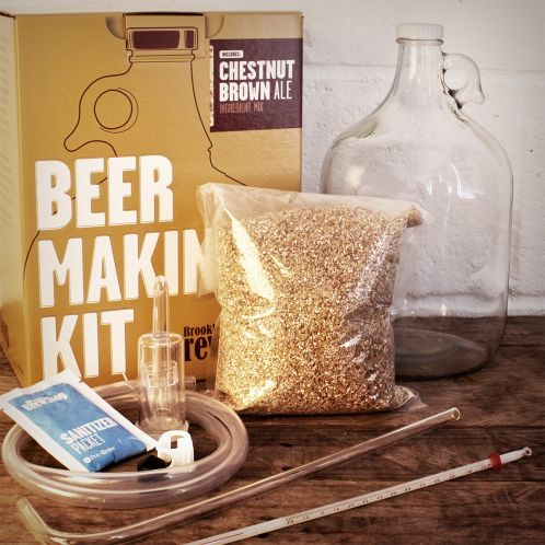 Cadeau idee - Brooklyn Brew Shop bierbrouwset