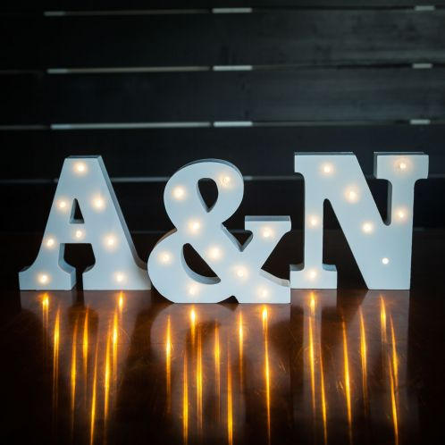 Cadeau idee - Lichtgevende letters