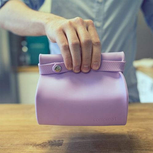 Cadeau idee - Compleat siliconen lunchbox