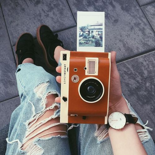 Verjaardagscadeau - LOMO instant camera