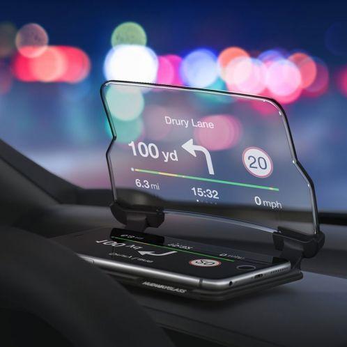 Cadeau idee - Hudway Head Up display voor smartphones