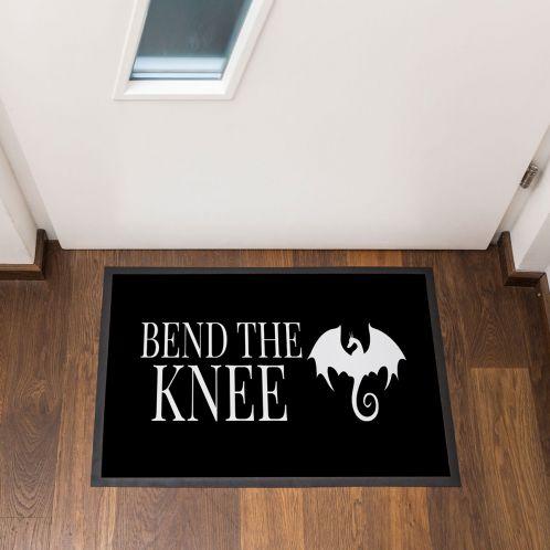 Cadeau idee - Bend The Knee deurmat