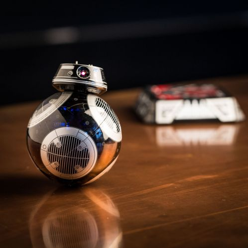 Kerstcadeau - Sphero app gestuurde Star Wars BB-9E droid