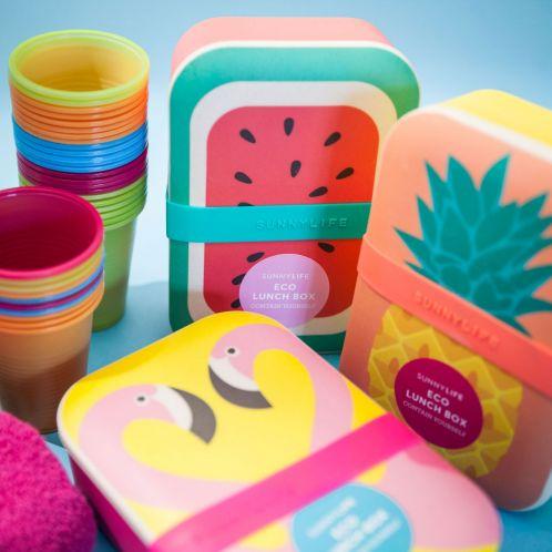 Verjaardagscadeau - Vrolijke eco lunchboxen