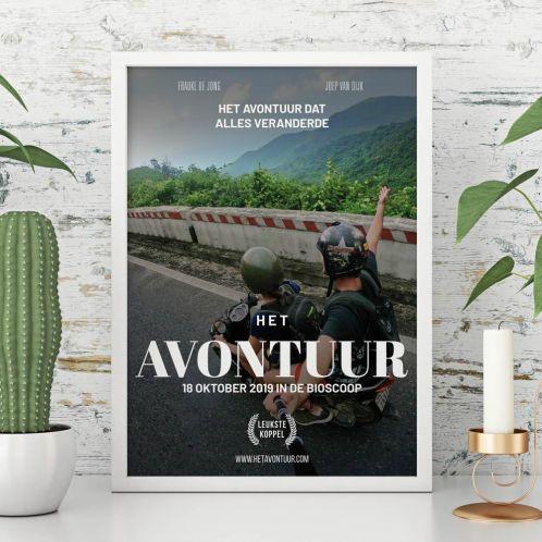 Cadeauboxen - Personaliseerbare poster in filmposter stijl