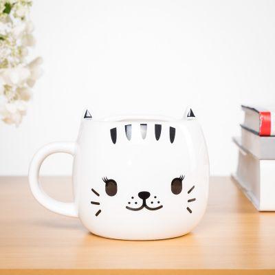 Warmtegevoelige kat mok