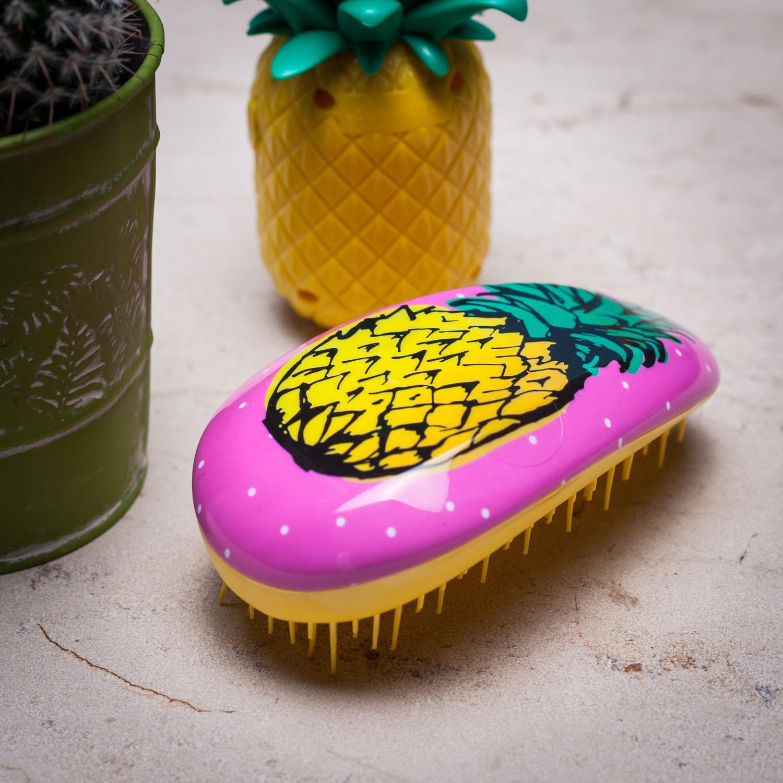 Haarborstel met ananas geur